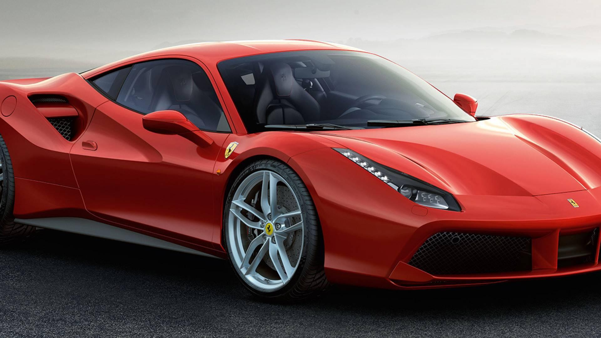Coche Ferrari 488 GTB