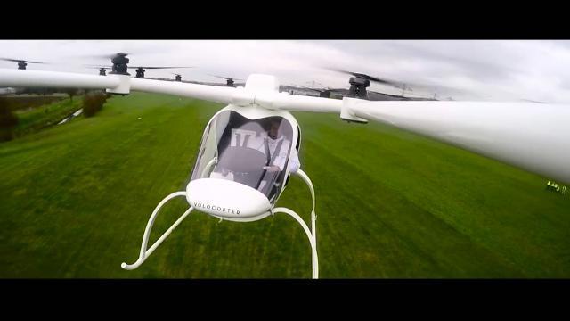 coche volador intel
