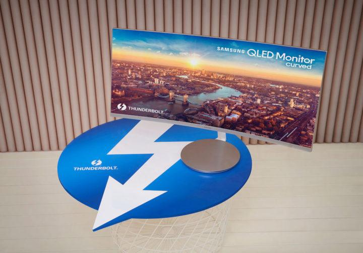 monitor QLED curvo