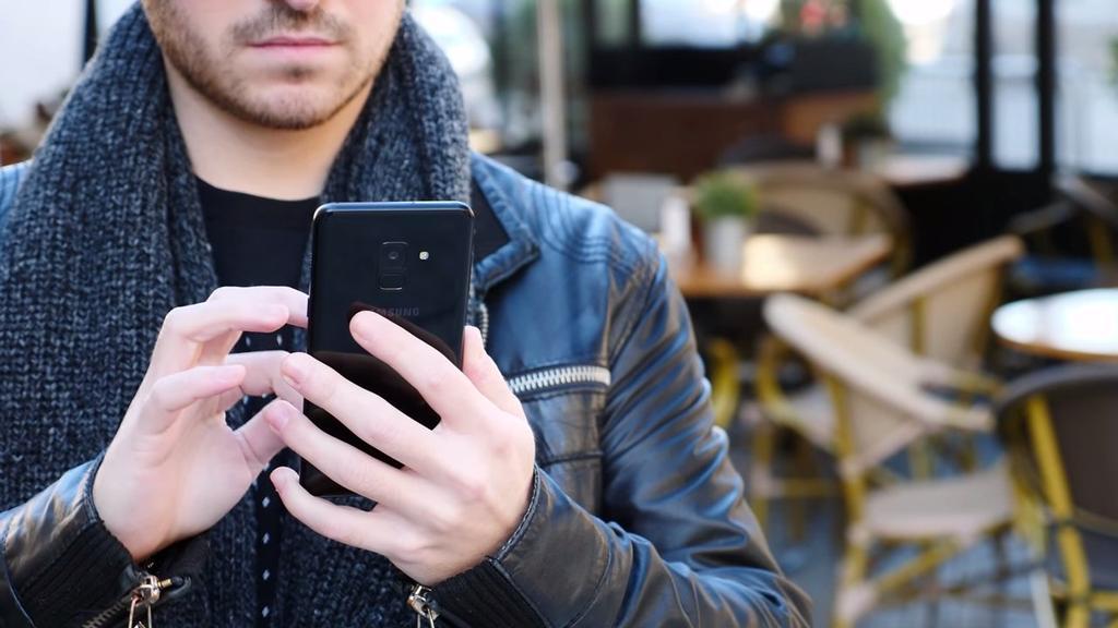 Uso del Samsung Galaxy A8 2018