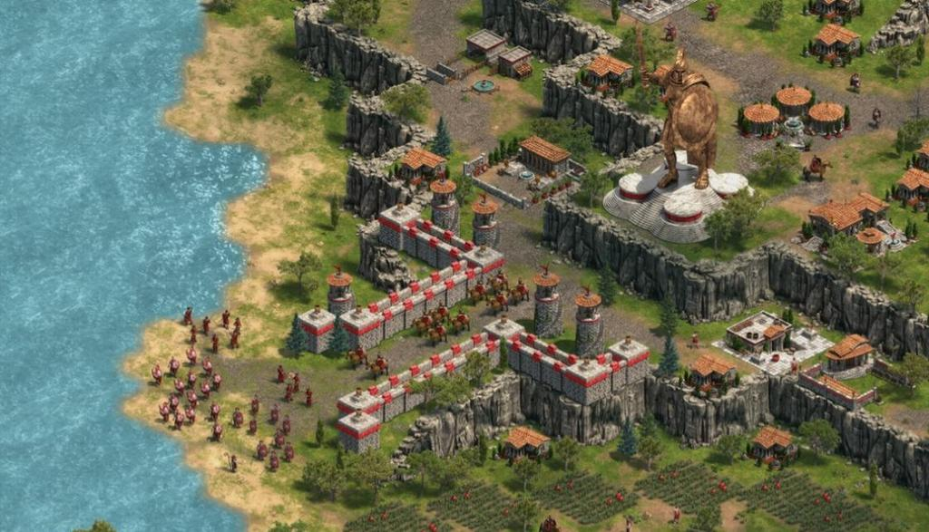 Interfaz juego Age of Empires Definitive Edition