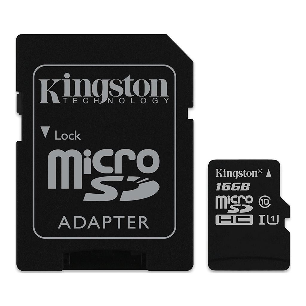 microSD de 16 GB