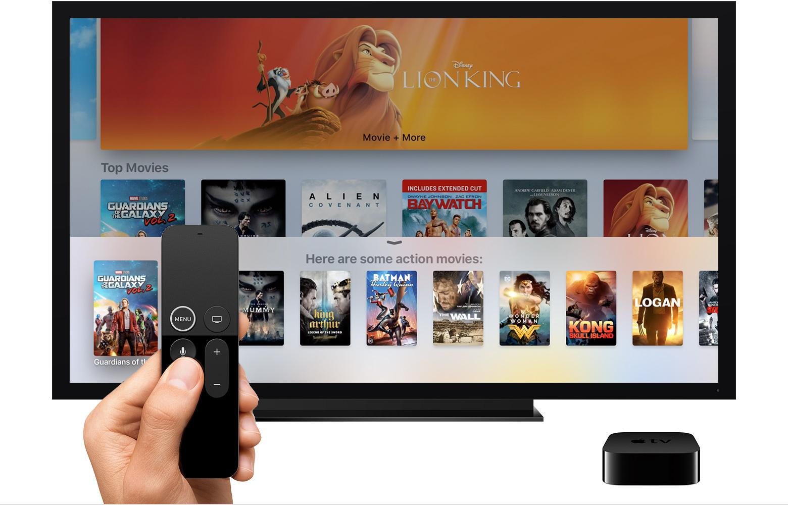 Interfaz de Apple TV