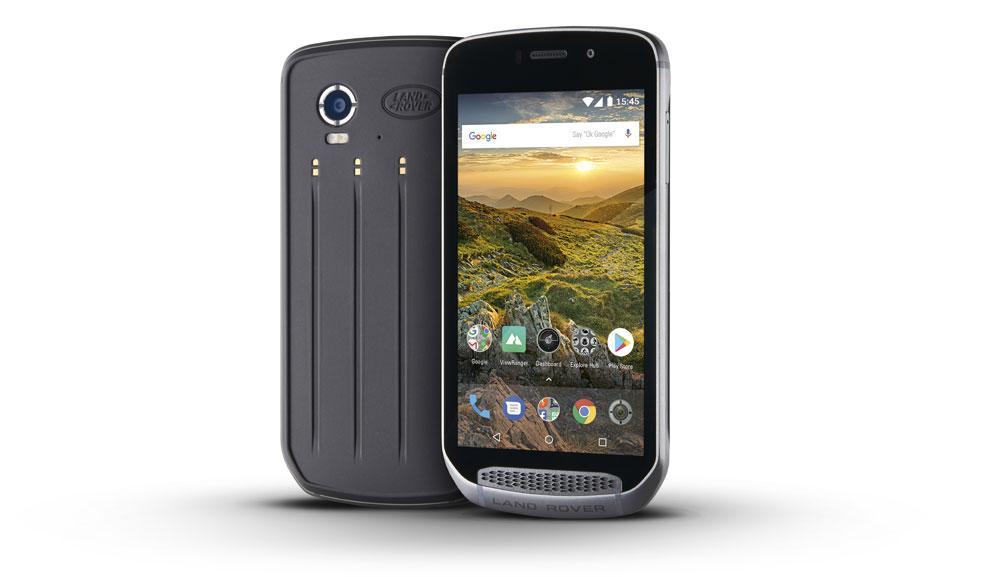 Diseño del Land Rover Explorer smartphone