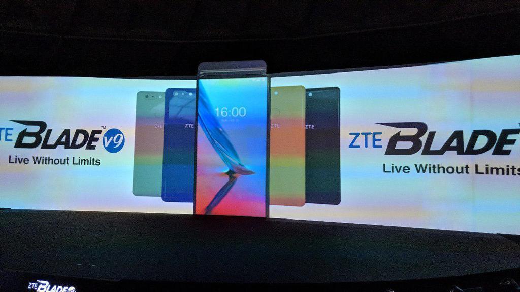 Diseño y colores del ZTE Blade V9
