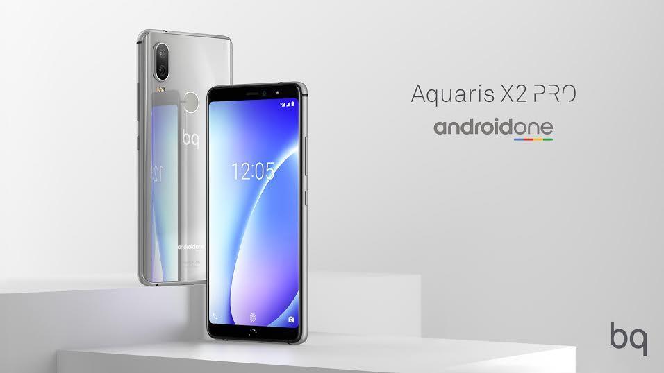 BQ Aquaris X2 Android one