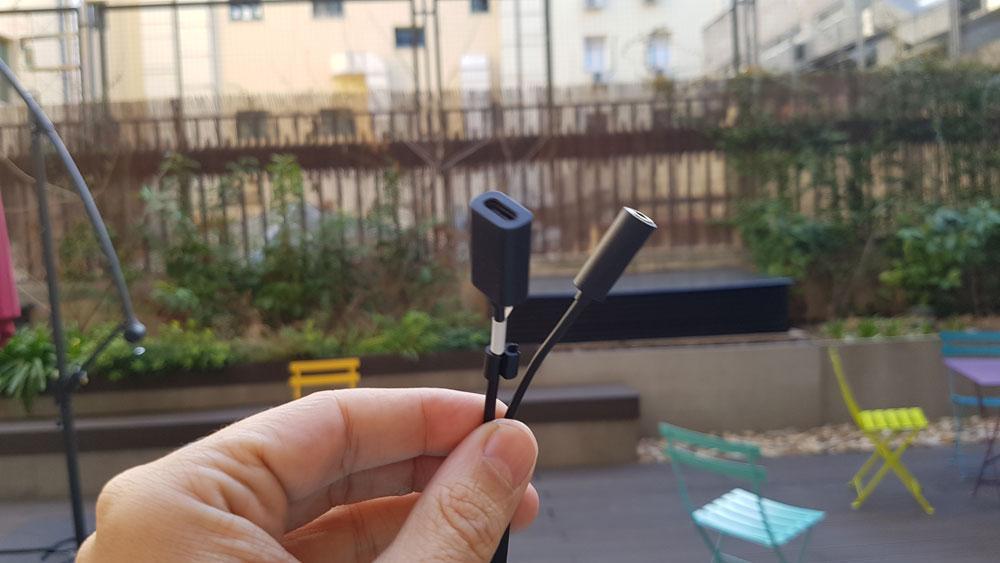 Adaptador USB tipo C de Sony