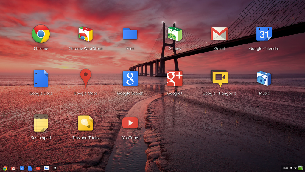 Interfaz de Chrome OS