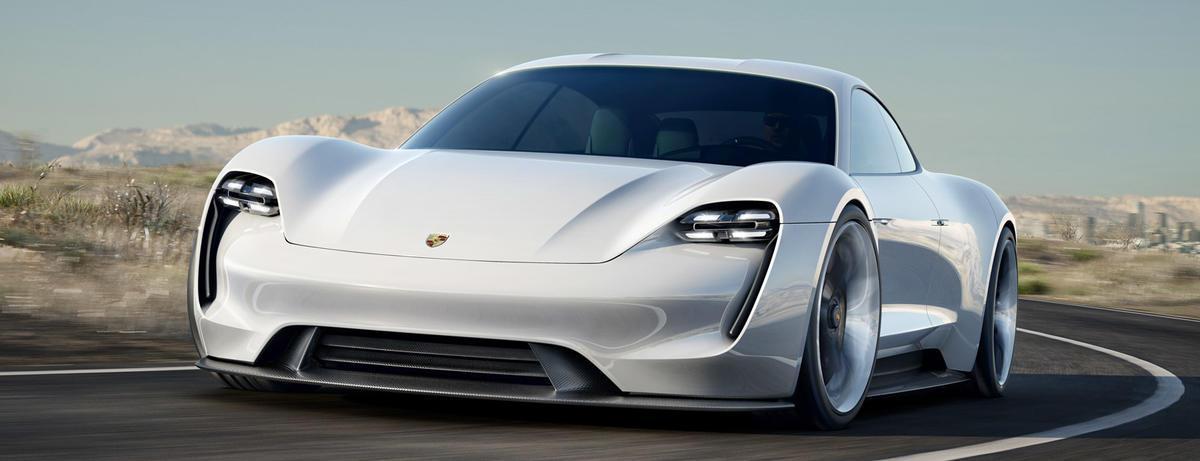 Mission E el Coche eléctrico Porsche