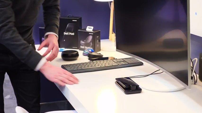 Accesosrio Samsung DeX para el Samsung Galaxy S9