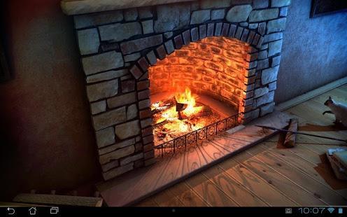 Aplicación Fireplace 3D Pro lwp