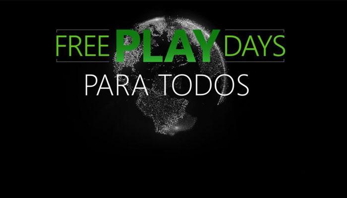 Free Play Days para Xbox