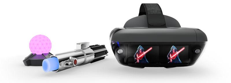Accsorios para juagr a Star Wars Desafíos Jedi