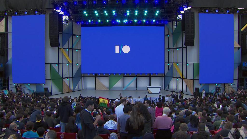 Imagen del Google IO 2018