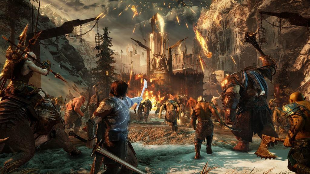 Juego de Xbox One X con calidad de imagen 4K