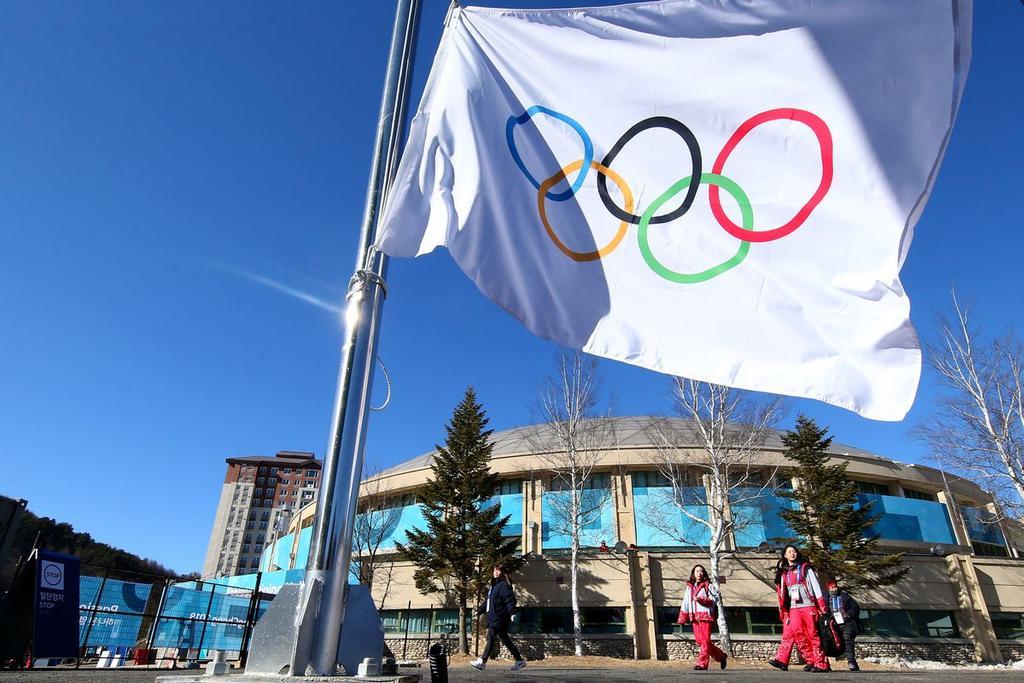 Bandera de los Juegos Olímpicos de Invierno