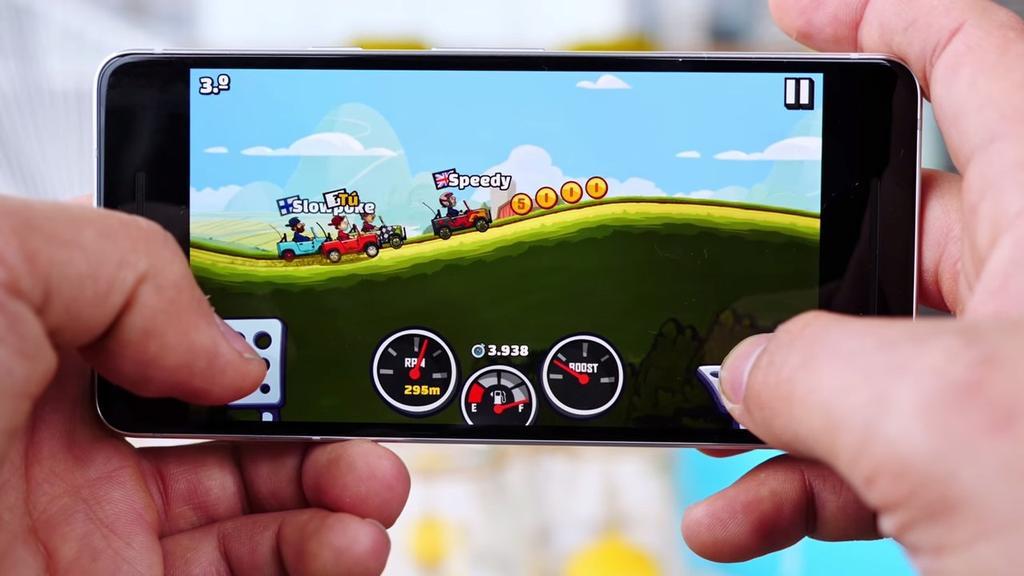 Juego en el Google Pixel 2
