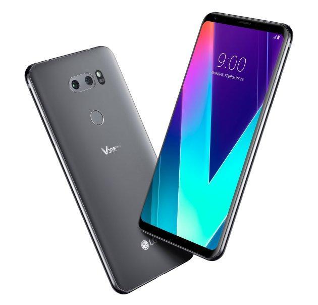 Diseño del LG V30S