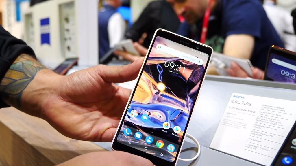Uso del Nokia 7 Plus