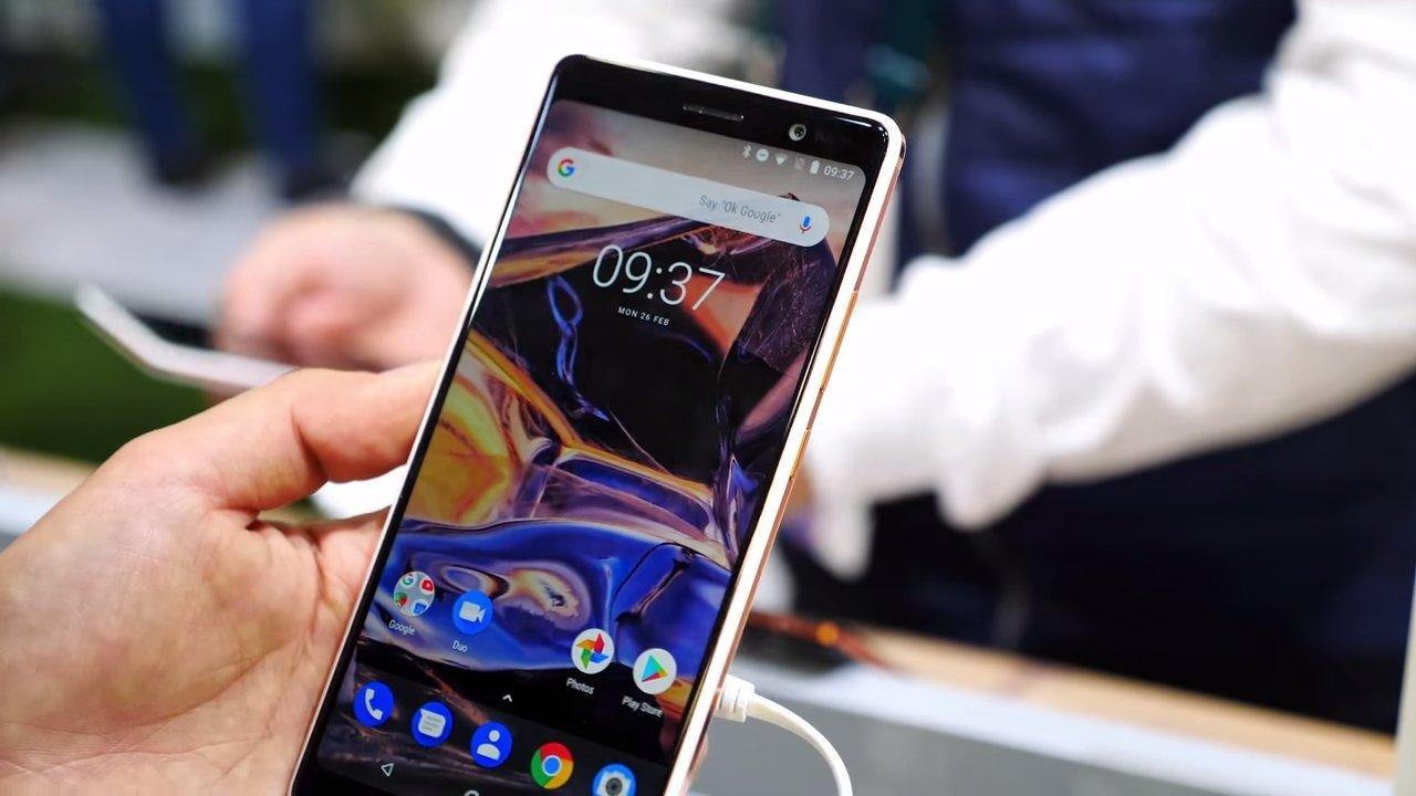 Teléfono Nokia 7 Plus