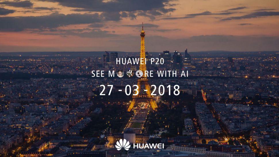 Fecha de presentación del Huawei P20