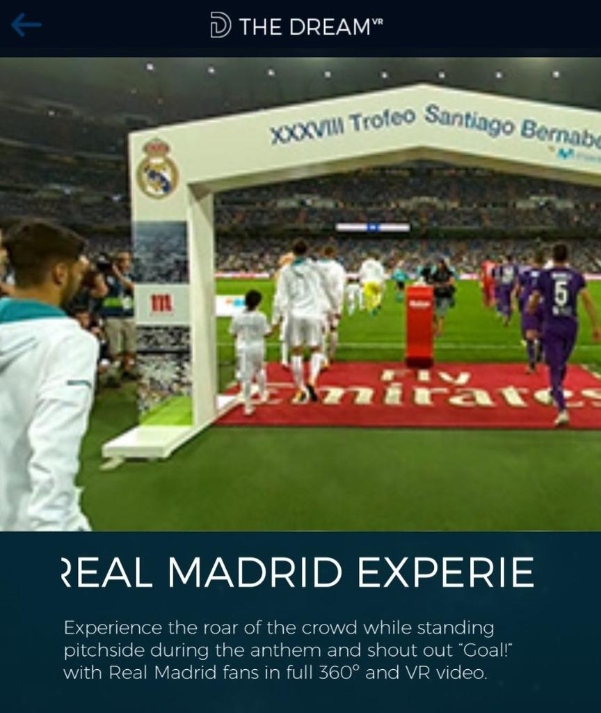 Real Madrid en The Dream TV