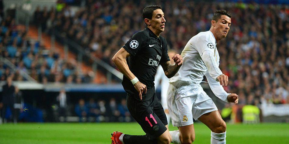 Di Maria y Cristiano Ronaldo