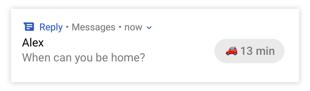 Respuesta inteligente en Mensajes de Android