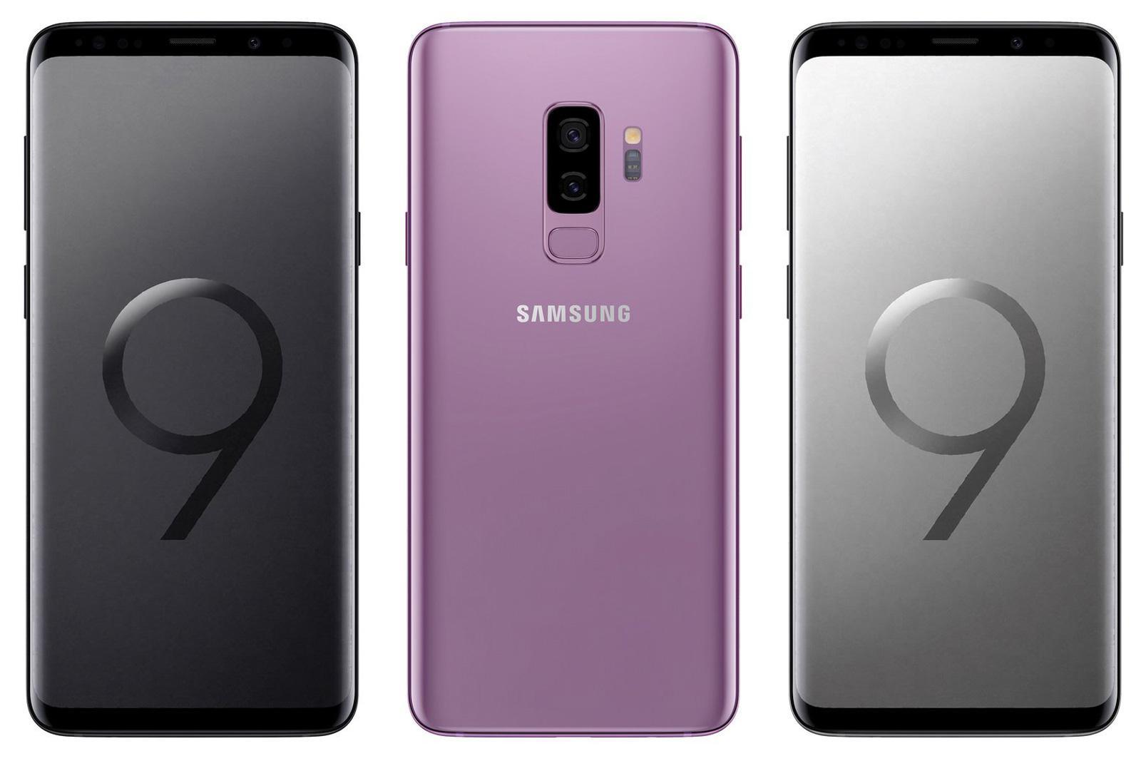Samsung Galaxy S9 por delante y por detrás