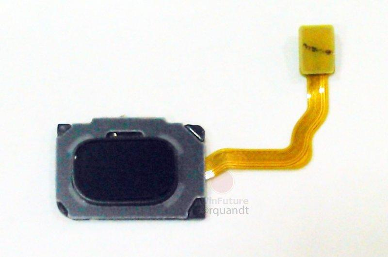 Lector de huellas dactilares del Samsung Galaxy S9