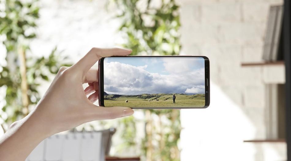 Pantalla del Samsung Galaxy S9