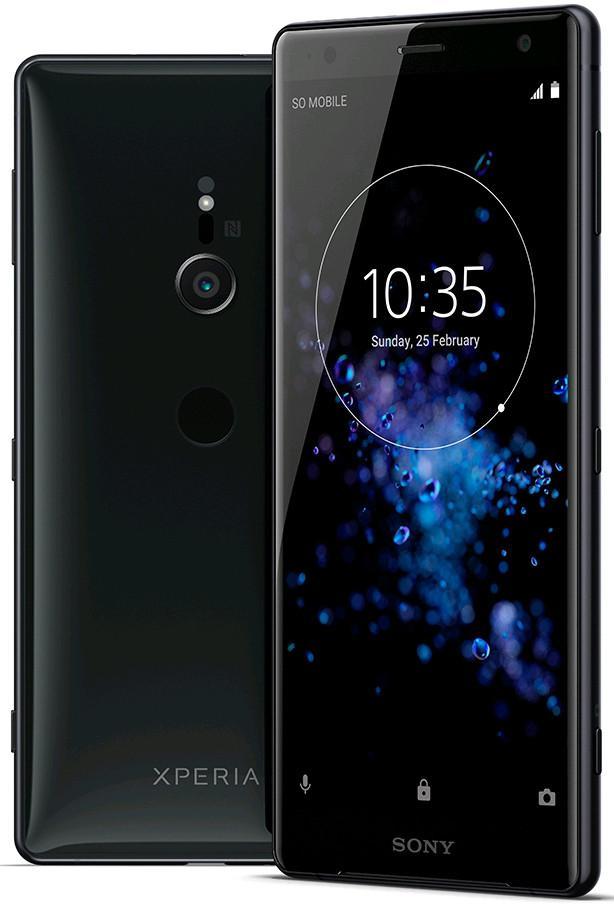 diseño del Sony Xperia XZ2