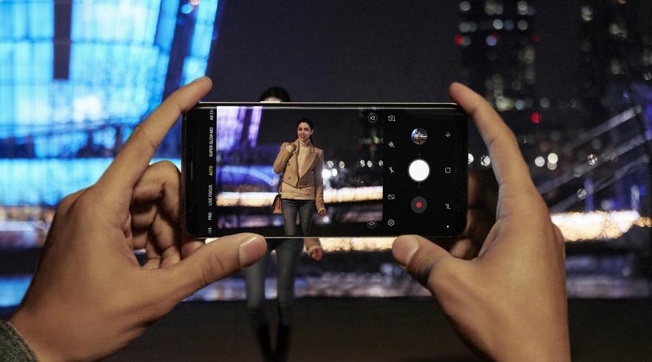 Cámara del Sony Xperia XZ2
