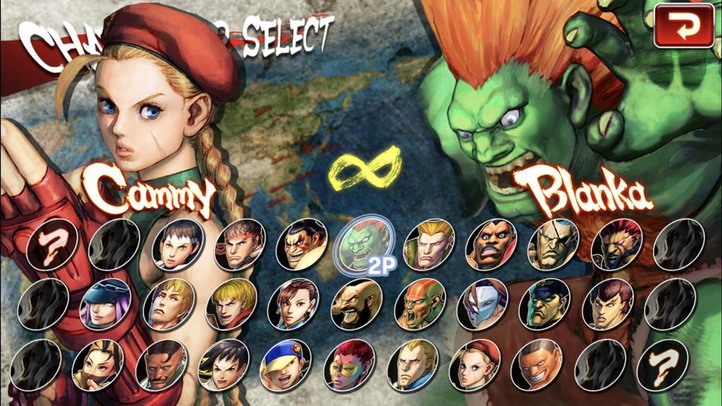 Personajes del nuevo Street Fighter para Android