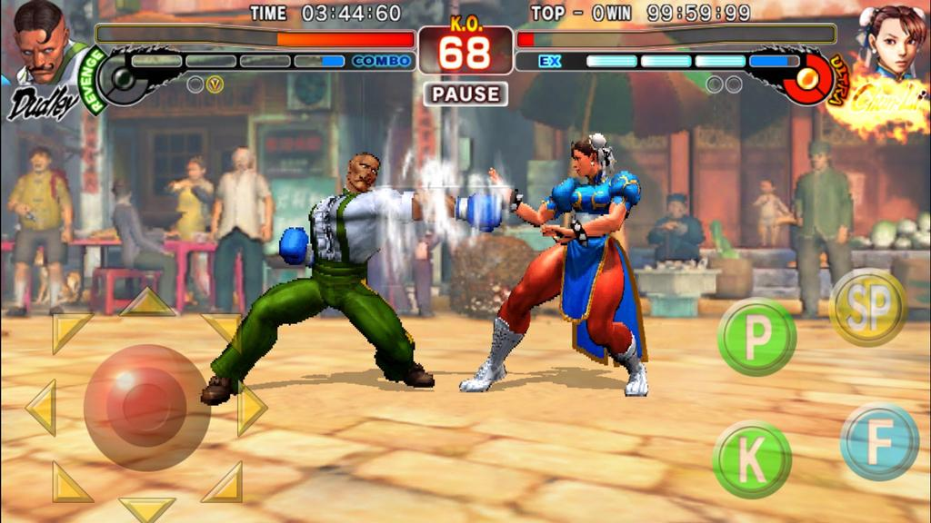 Combate en Street Fighter para Android