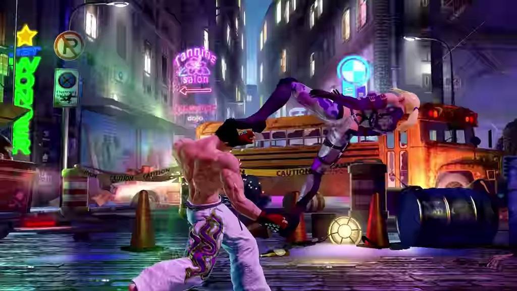 Ejecución de Tekken par Android