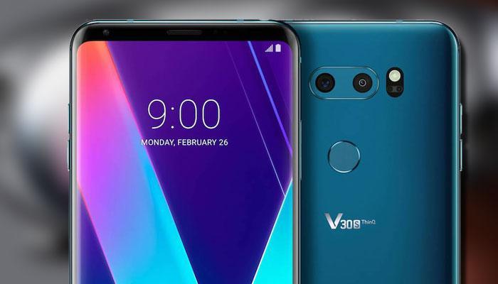 Imagen teléfono LG V30S