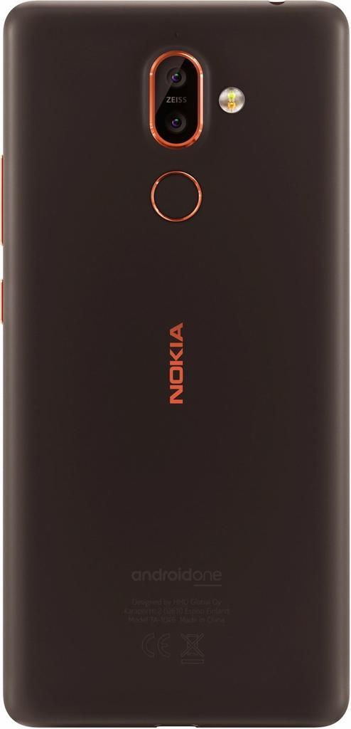 Imagen trasera del Nokia 7 Plus