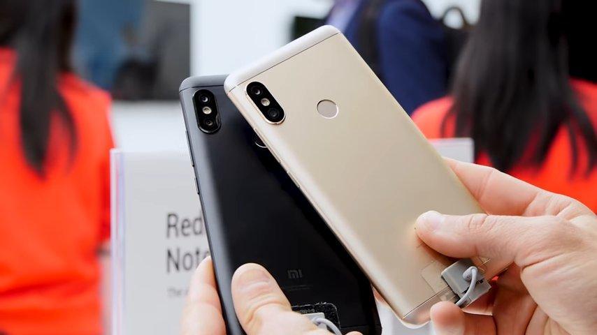 Xiaomi Redmi Note 5 Pro por detrás