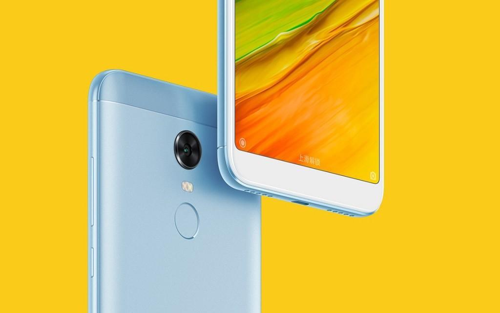 Acabado del Xiaomi Redmi Note 5