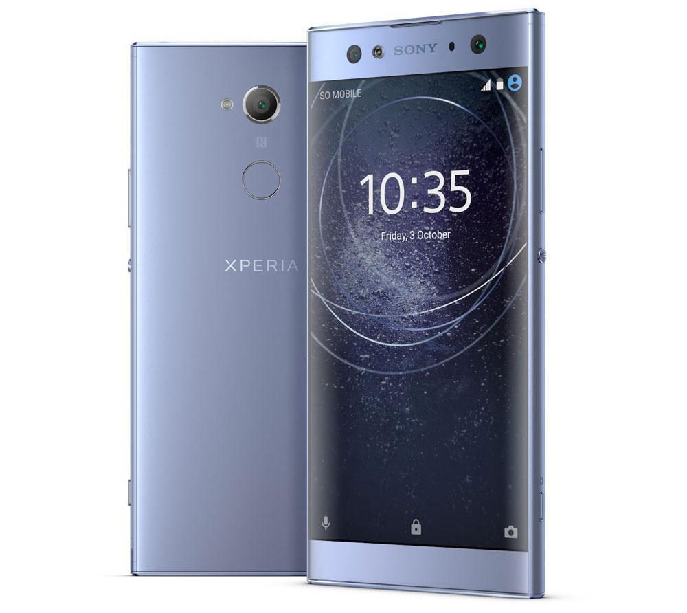 Sony Xperia XA2 Ultra de color azul
