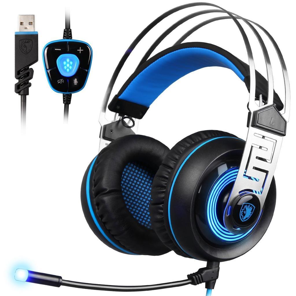 auriculares gaming SADES A7