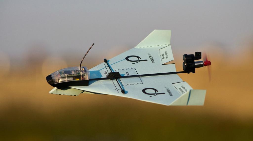 Aviones de papel de PowerUp Dart
