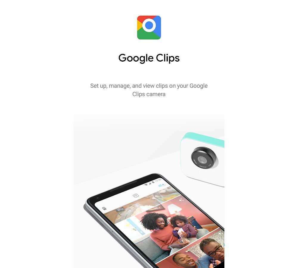 cámara Google Clips