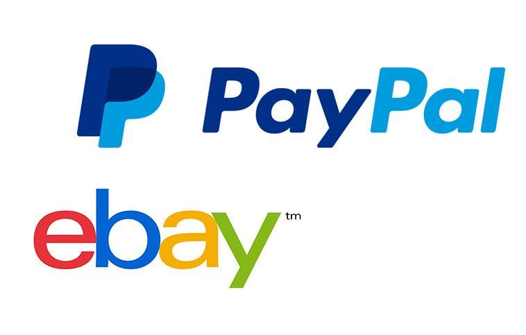 Logotipo de eBay y PayPal