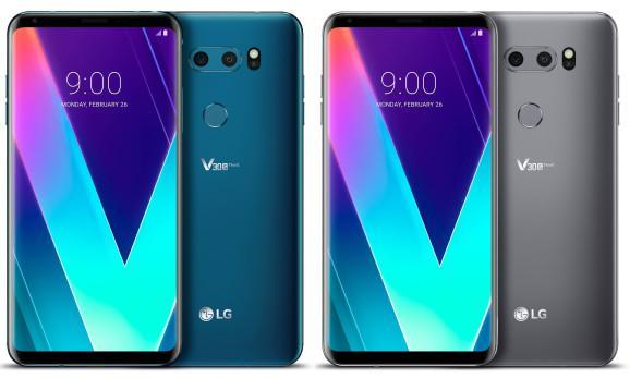 Colores del nuevo LG V30S