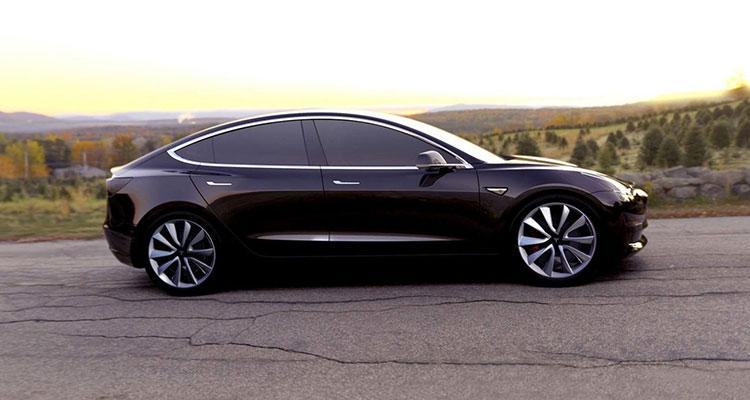 acabados del Tesla Model 3