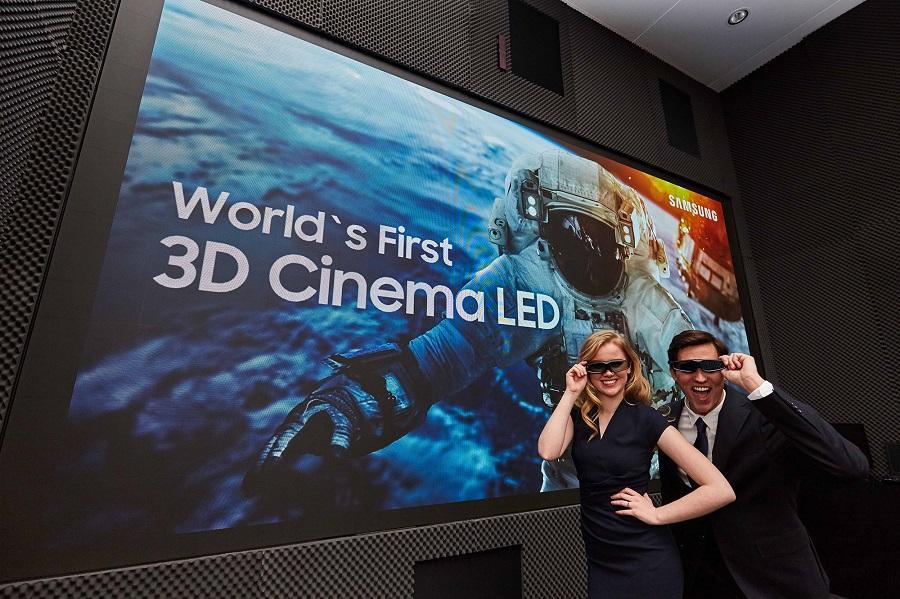 pantalla de cine LED de samsung