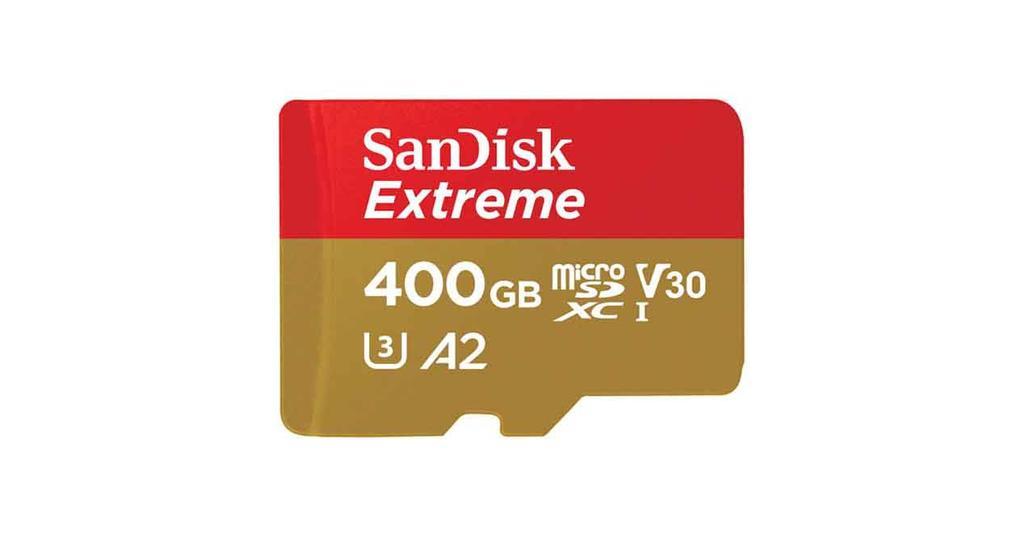 tarjeta de memoria SanDisk Extreme 400 GB