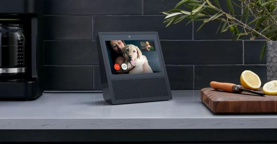 Altavoz inteligente con pantalla integrada